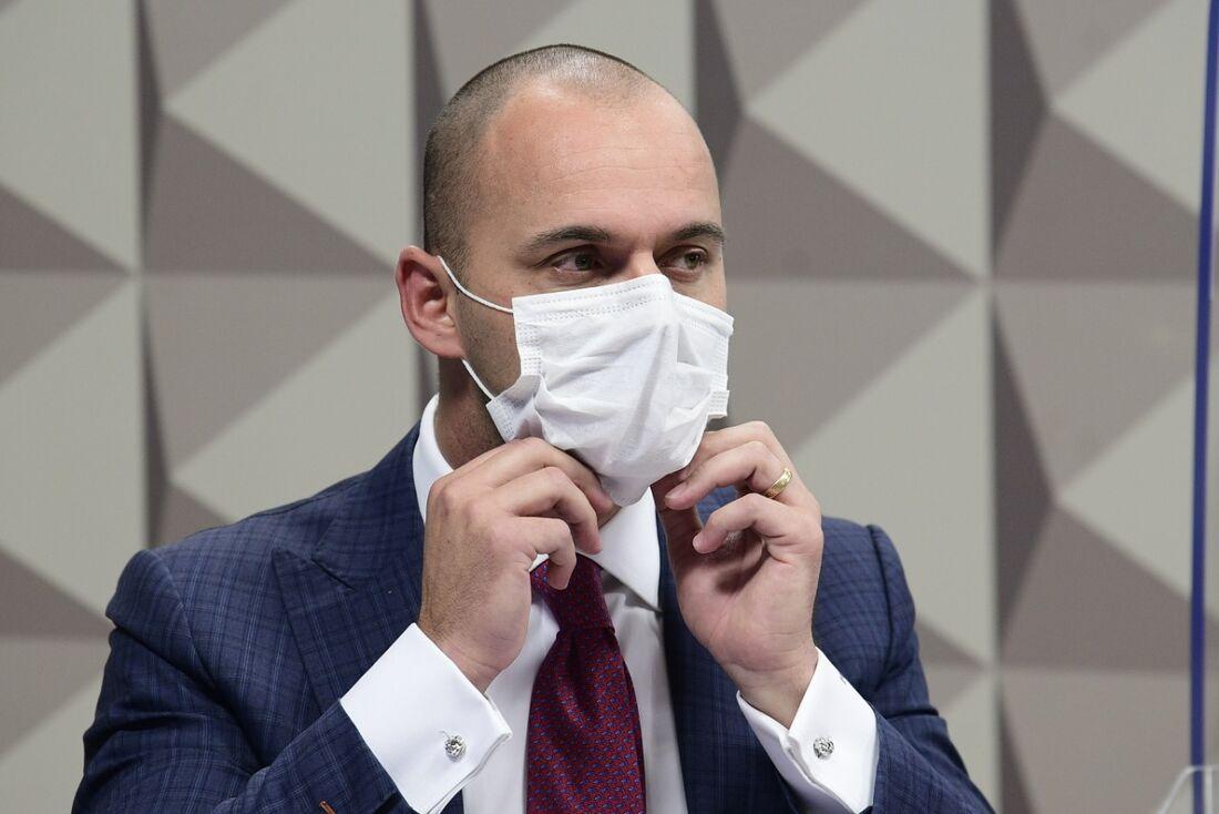 Batista Júnior, diretor-executivo da Prevent Senior, em depoimento na CPI da Pandemia