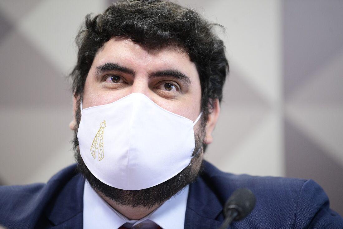 Marconny Faria, em depoimento à CPI da Covid