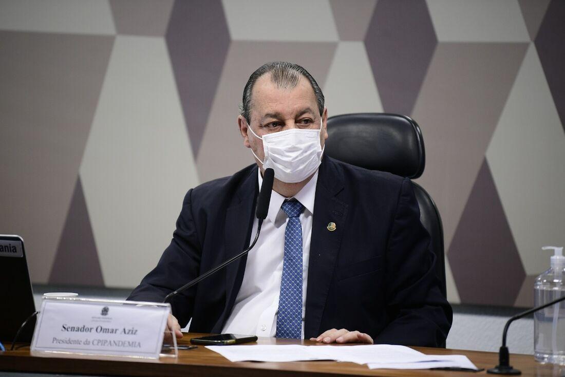 Omar Aziz (PSD), presidente da CPI da Pandemia