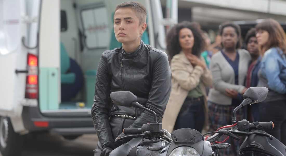"""Maria Casadevall em """"Garota da Moto"""""""