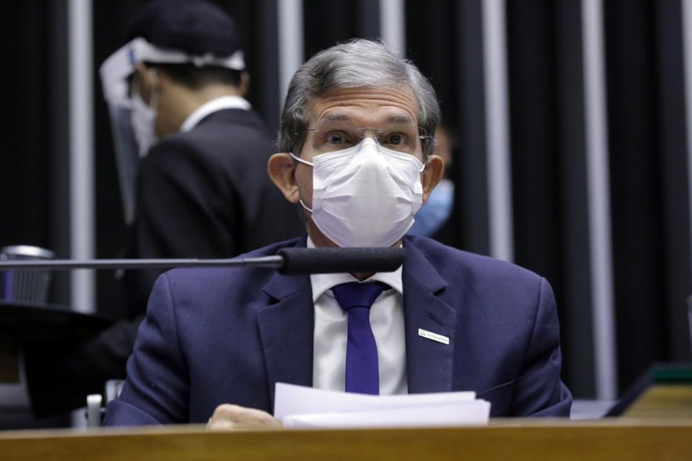 O presidente da Petrobras, Joaquim Silva e Luna