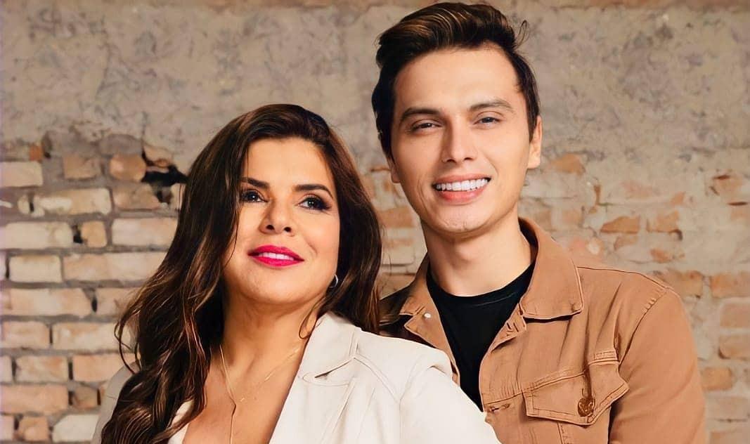Mara Maravilha e Gabriel Torres