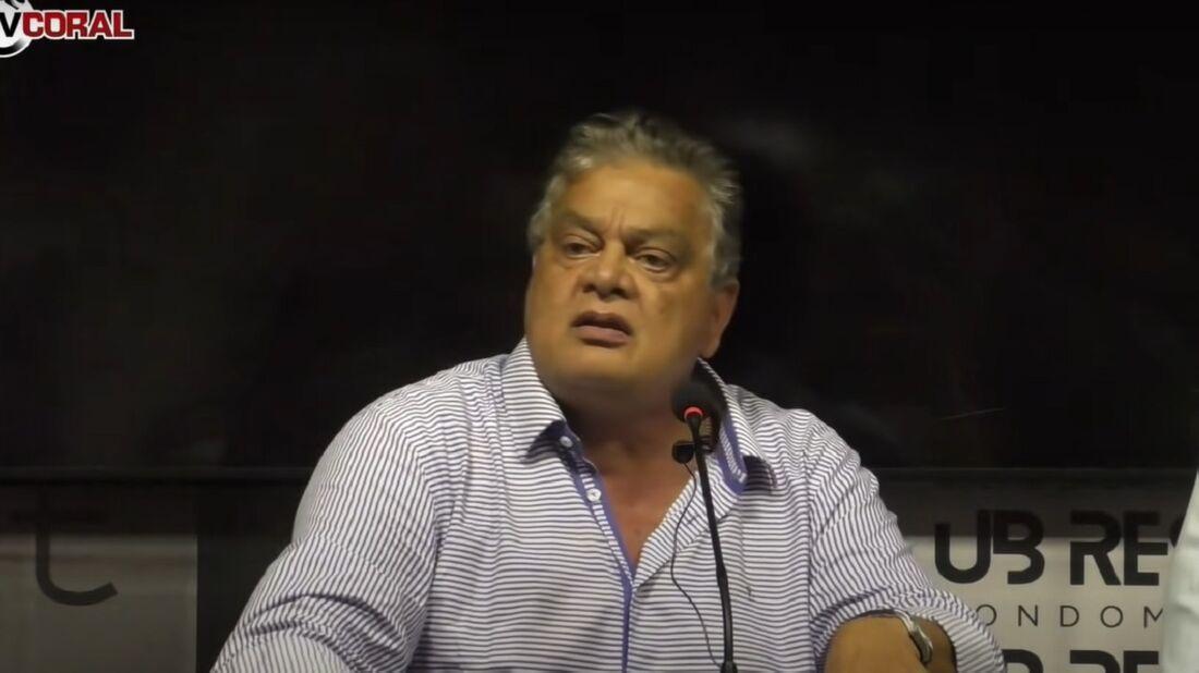 Alexandre Mirinda, vice-presidente de futebol do Santa Cruz