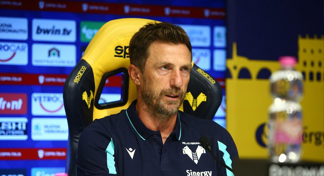 Di Francesco, ex-técnico da Hellas Verona