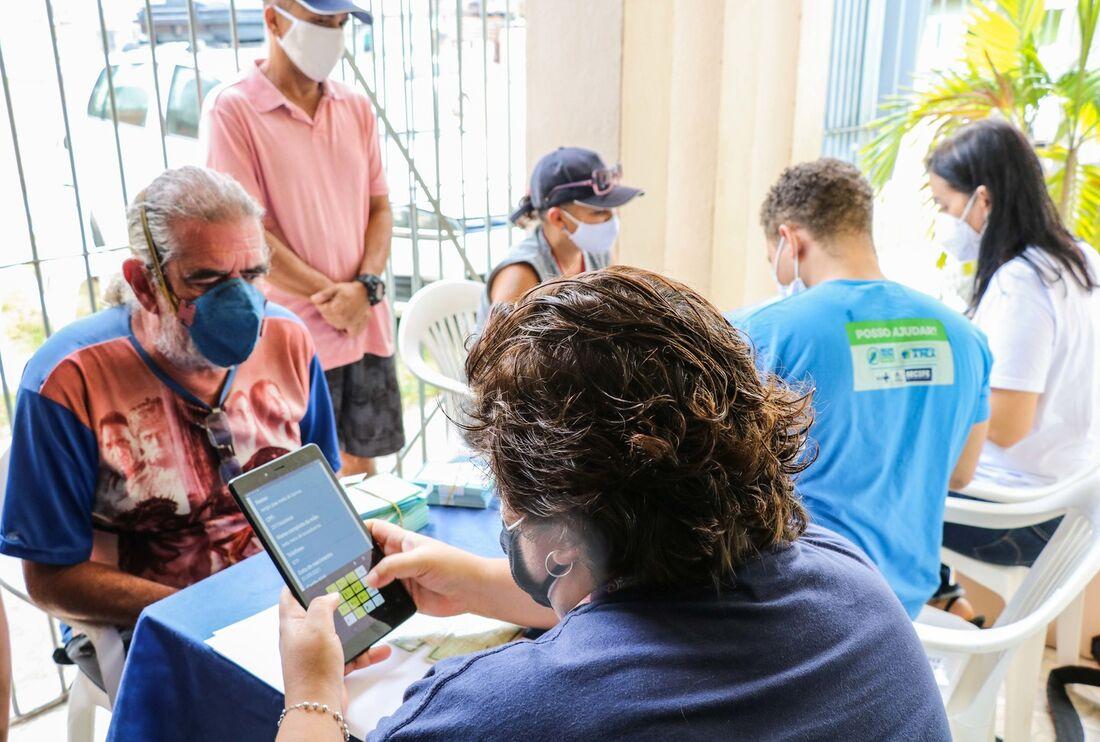 Vacinação itinerante no Recife
