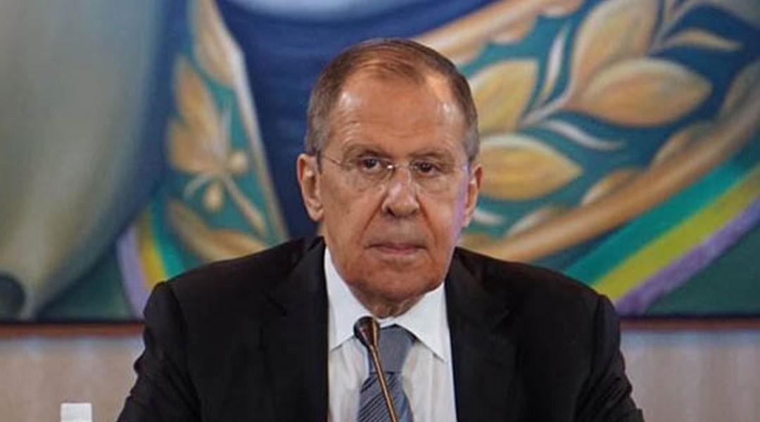O ministro russo de Assuntos Exteriores, Serguei Lavrov