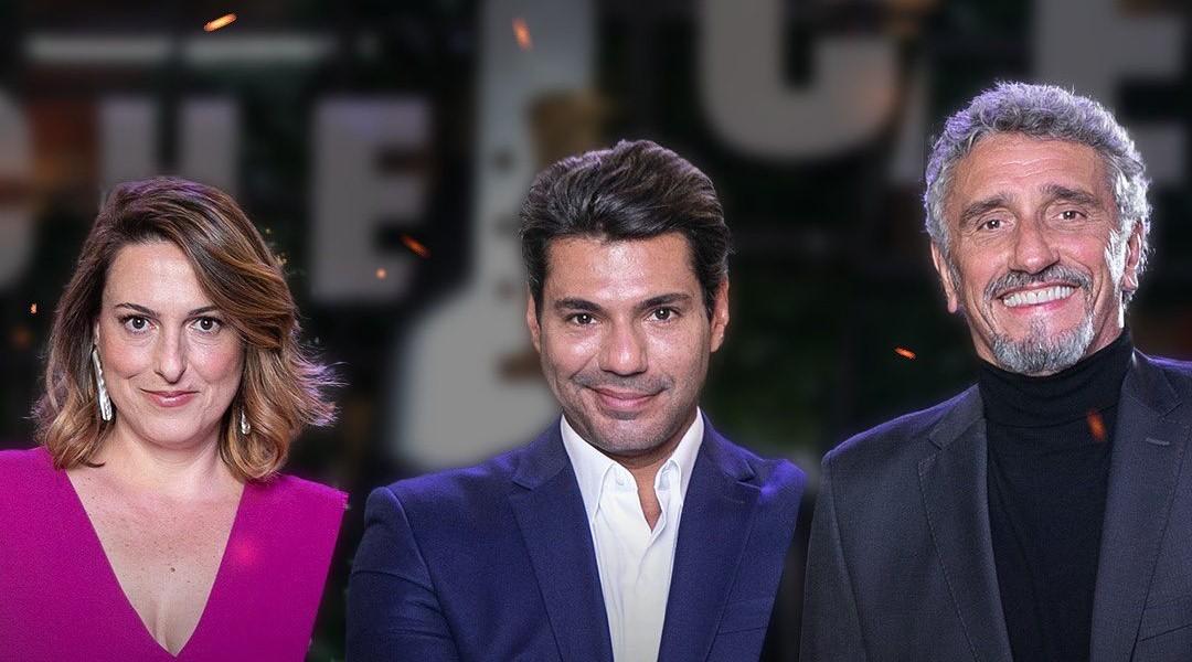 Aillin Aleixo, Felipe Bronze e Emmanuel Bassoleil fazem parte do júri do reality