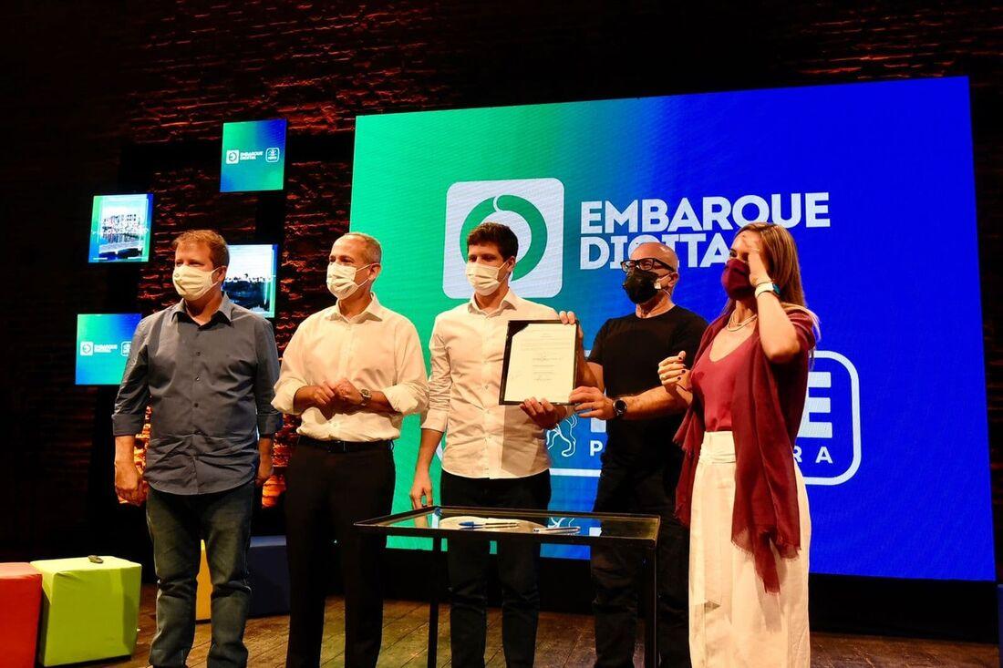 Lançamento do programa Embarque Digital