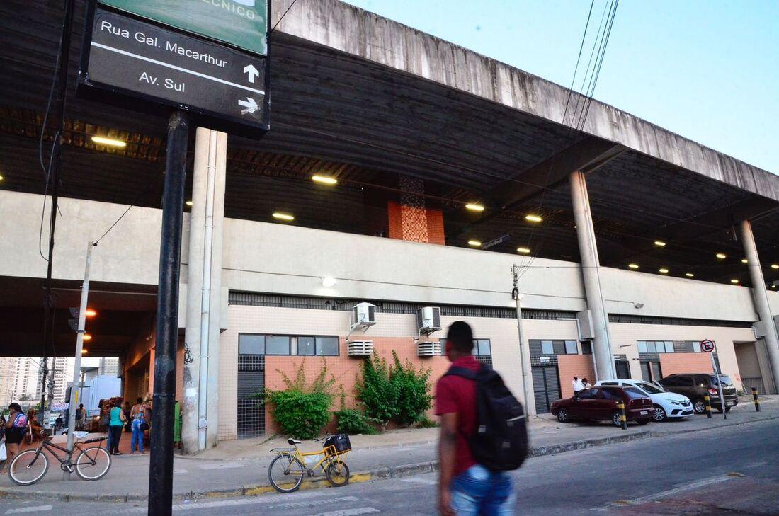 Estação Antônio Falcão do Metrô do Recife