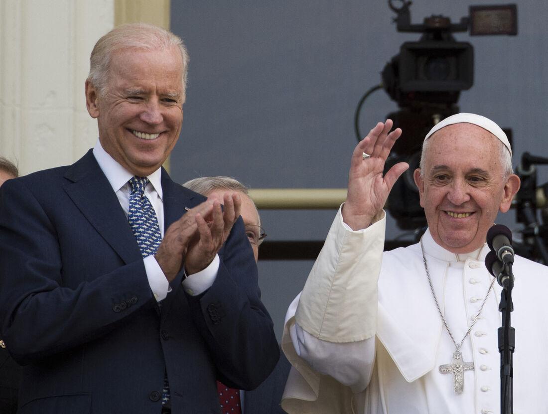 Presidente estadunidense, Joe Biden e Papa Francisco