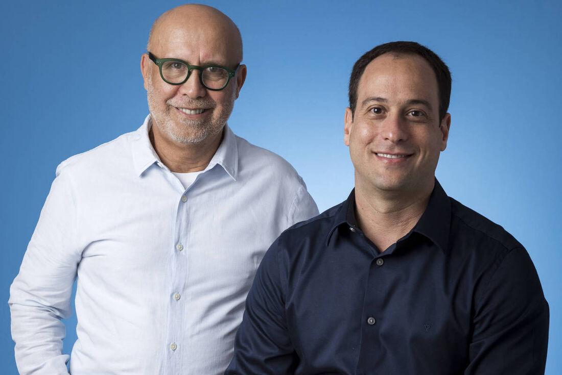 João Roberto Marinho (esquerda) será o novo presidente do Grupo Globo e Paulo Marinho (direita) assumirá a presidência
