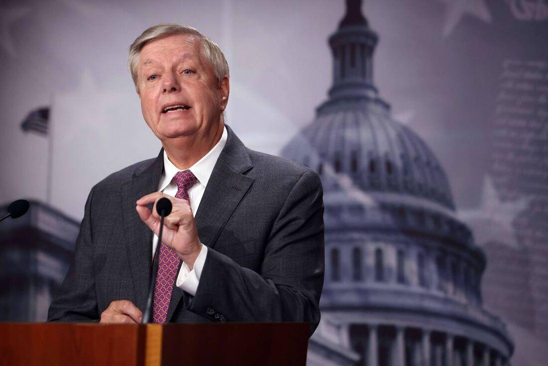 O senador americano Lindsey Graham