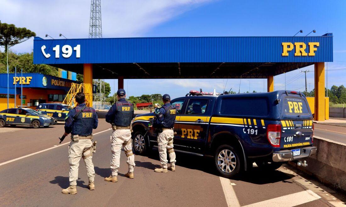 Polícia Rodoviária Federal no Paraná