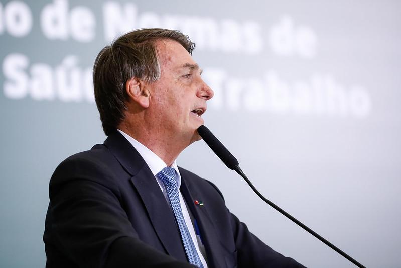 Palavras do Presidente da República, Jair Bolsonaro