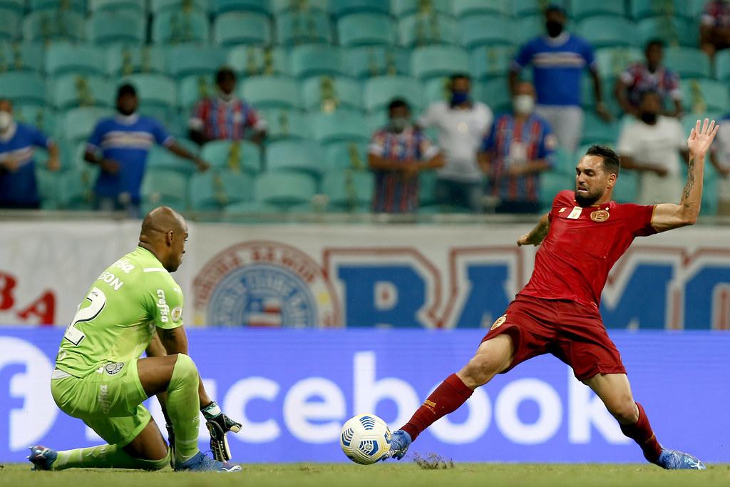 Gilberto, ex-Santa Cruz e Sport, não conseguiu superar o goleiro Jaílson