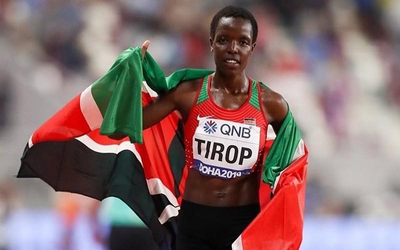 Agnes Tirop, atleta queniana