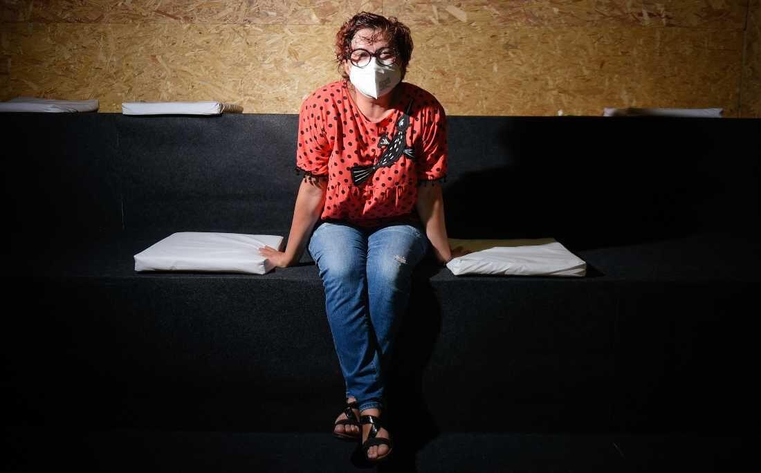 Cida Pedrosa, no último dia 13ª Bienal do Livro de Pernambuco