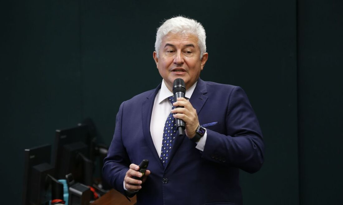 O ministro da Ciência, Tecnologia e Inovações, Marcos Pontes