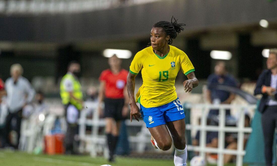 Ludmilla, atacante da Seleção Brasileira
