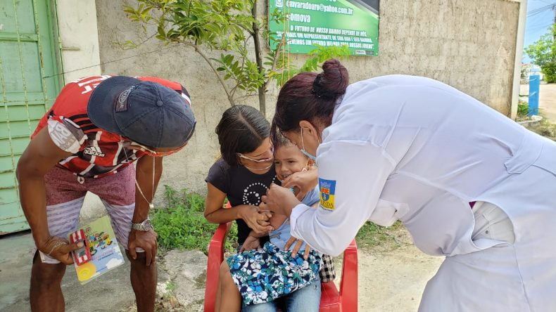 Vacinação em Olinda