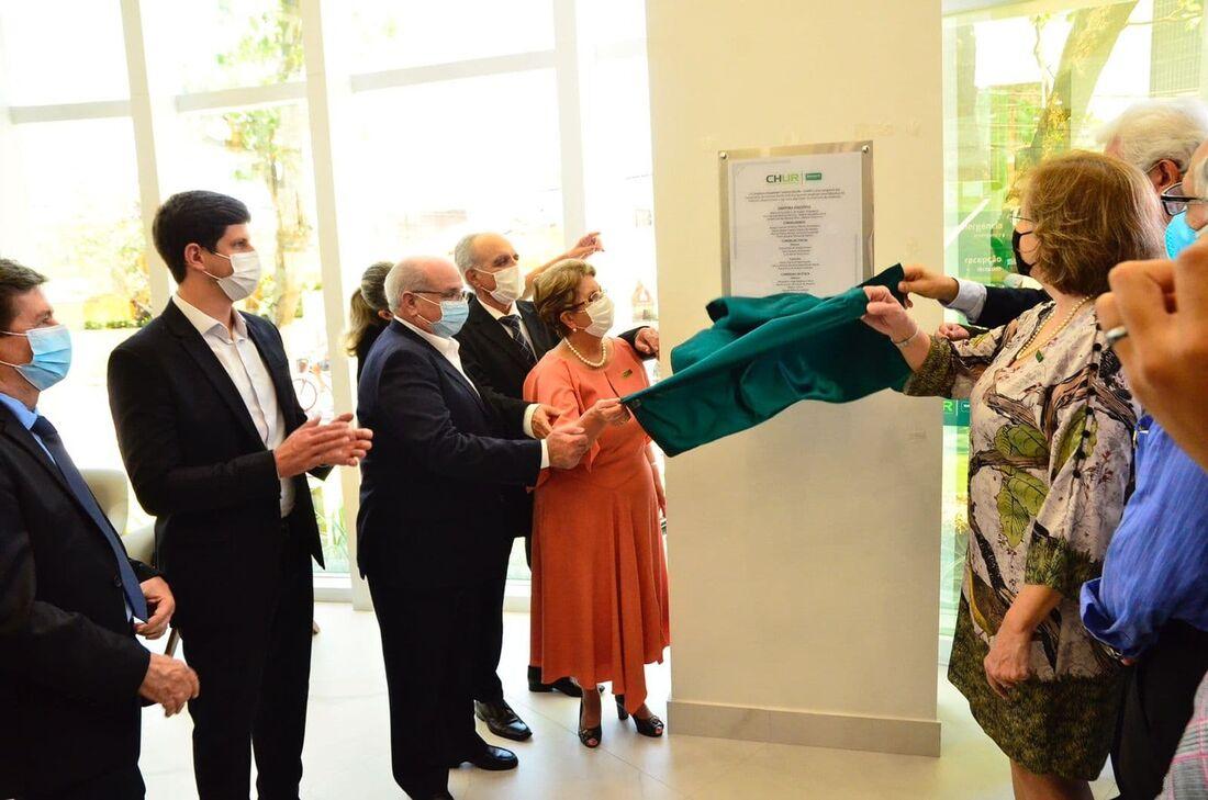 Inauguração do novo complexo da Unimed