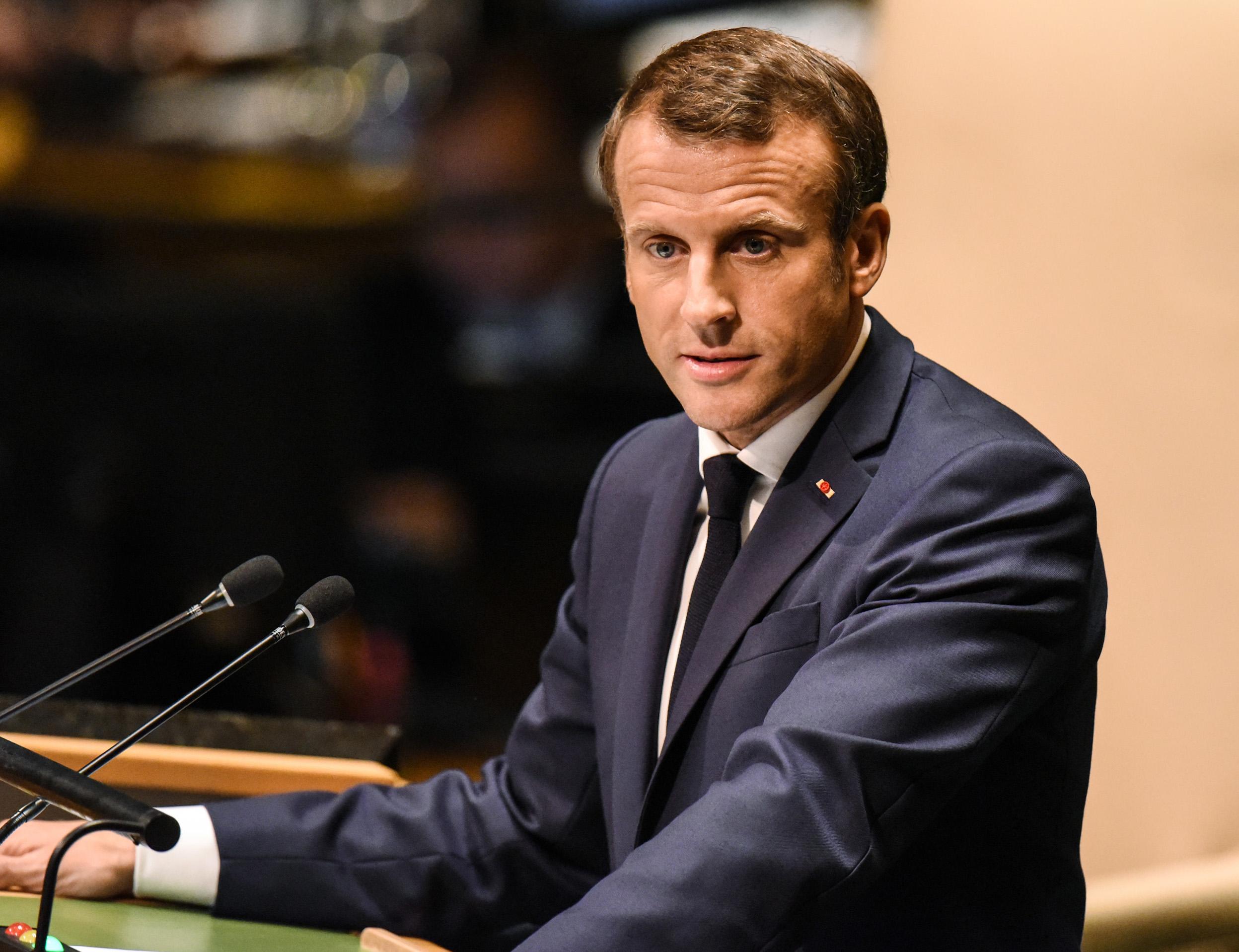 Macron Faz Apelo Por Uniao Da Europa Ante Conduta Inaceitavel Da Turquia Folha Pe