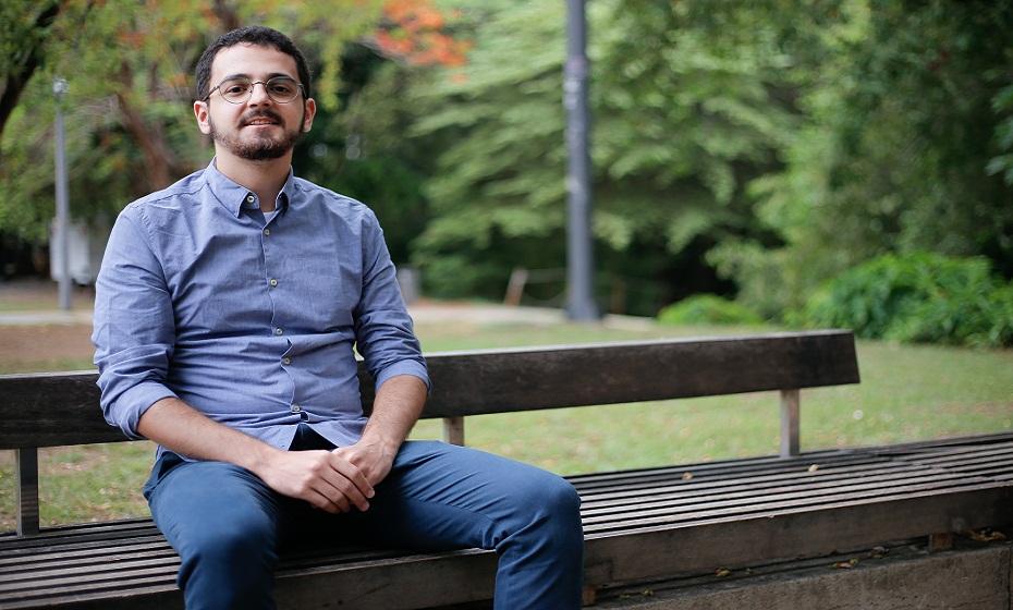 Psicólogo mestre em Saúde Mental Gabriel Medeiros
