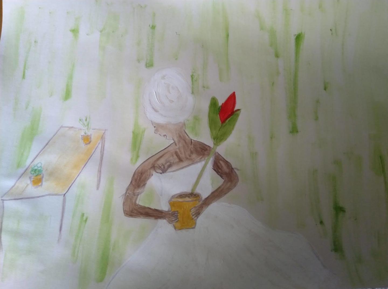 Desenhos são fruto do isolamento social