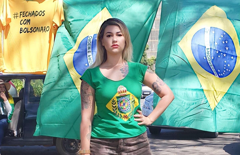 Ativista Sara Winter é presa pela PF em Brasília - Folha PE