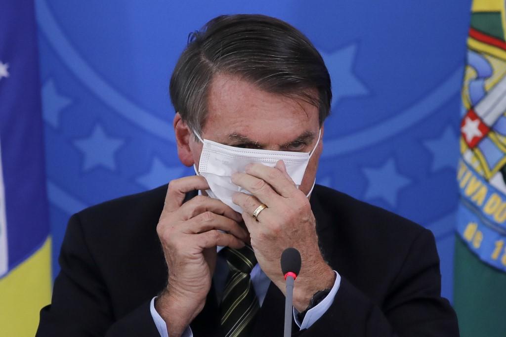 Bolsonaro tem teste positivo para Covid-19
