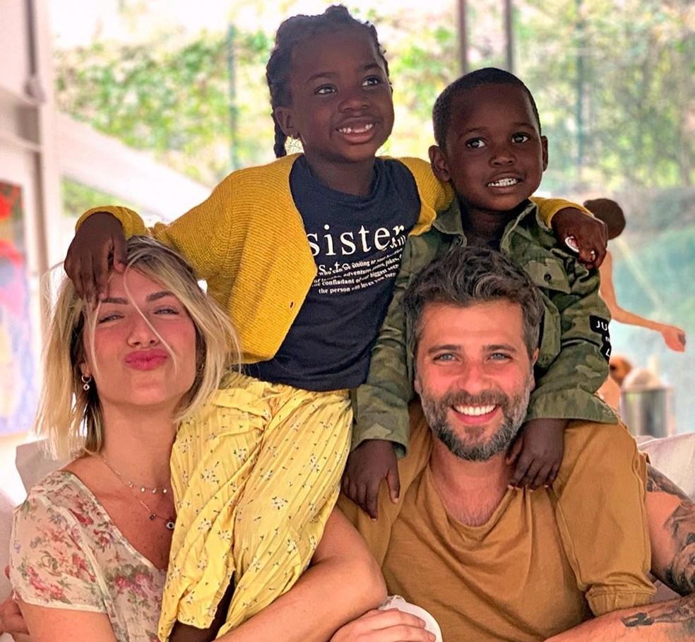 Nasce Zyan, o terceiro filho de Giovanna Ewbank e Bruno Gagliasso ...