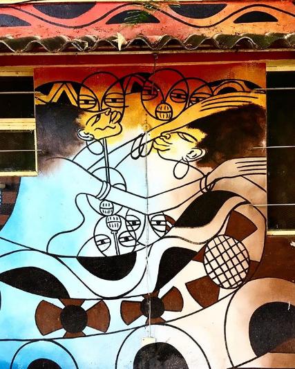 Quelimane, mural