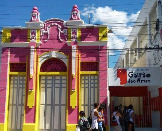 Centro de Criação Galpão das Artes, em Limoeiro