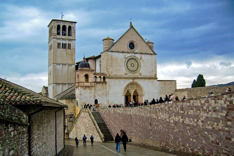 Basílica de São Francisco de Assis, na Itália, Patrimônio da Humanidade desde 2000