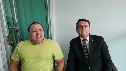 Encontro entre Pazuello e Bolsonaro