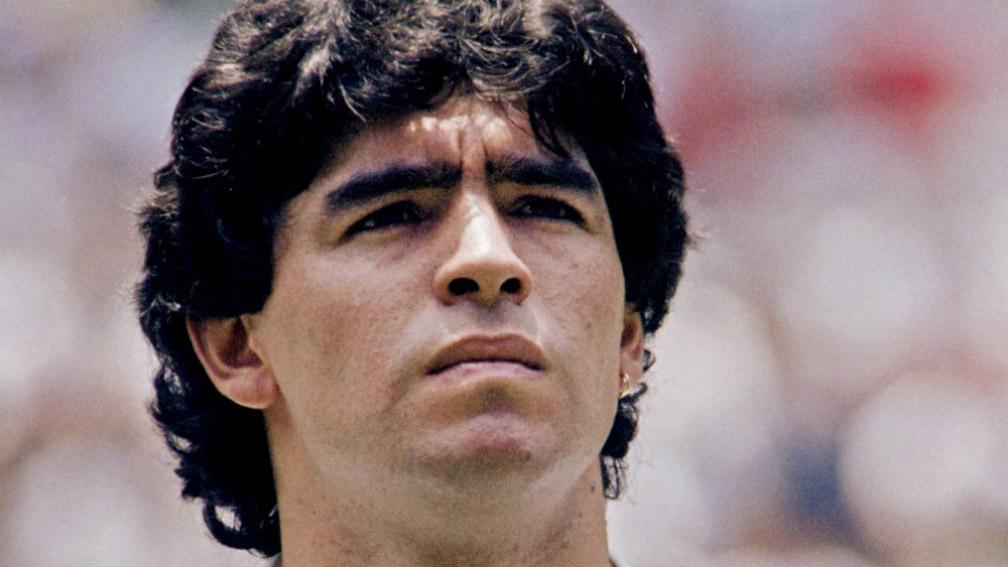 Maradona foi campeão mundial com a seleção da Argentina em 1986