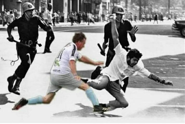 IMS repudia montagem em foto compartilhada por primo dos Bolsonaros sobre ditadura militar - Folha PE