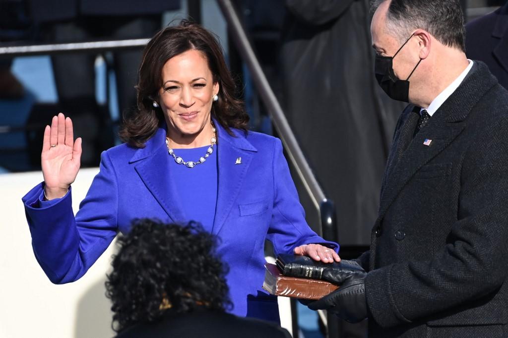 Kamala Harris, vice-presidente dos Estados Unidos
