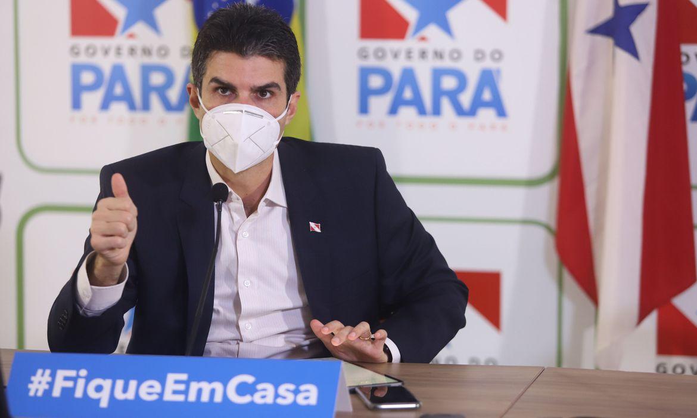 Resultado de imagem para PF pede indiciamento de governador do Pará sob suspeita de compra irregular de respiradores