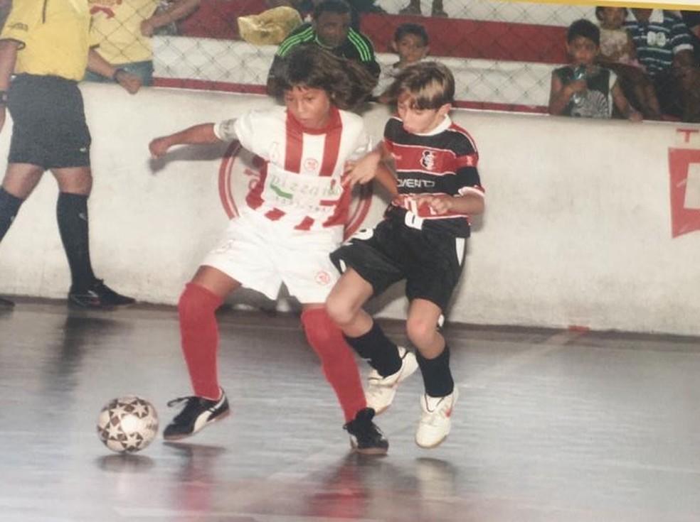Olindense, Kaio Jorge passou pelo futsal de Náutico e Sport, antes de virar uma das joias do Santos