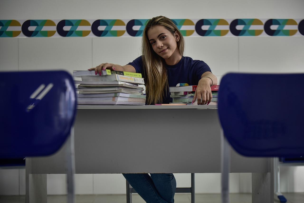 Letícia Moura priorizou cuidado com o bem-estar da mente para se sair bem no Enem