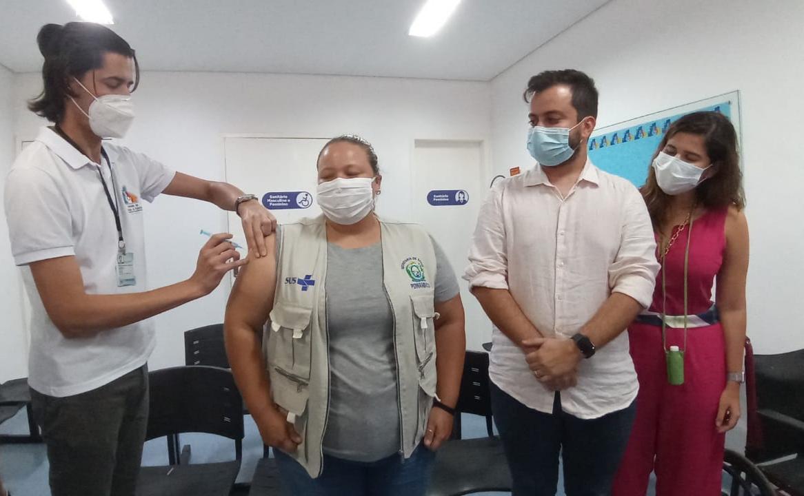 Vacinação em Fernando de Noronha