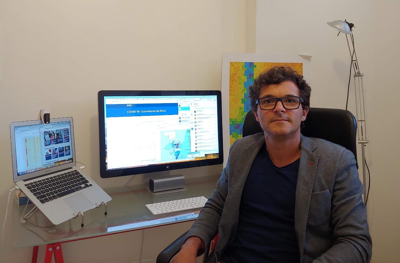 Jones Albuquerque, pesquisador do IRRD