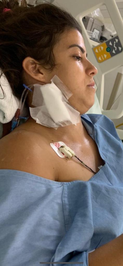 Médica veterinária Priscyla Andrade está na UTI