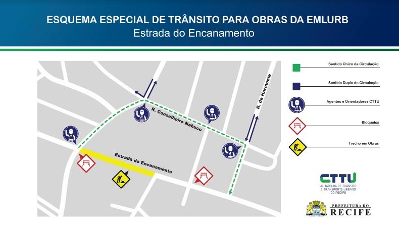 Prefeitura do Recife inicia segunda etapa da obra para eliminar ponto de alagamento na Estrada do Encanamento
