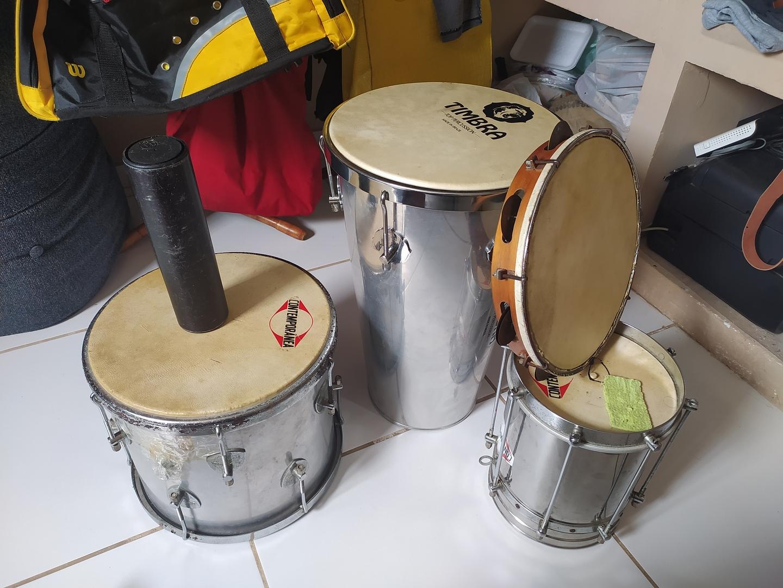 Instrumentos de Zé Trola foram vendidos durante a pandemia