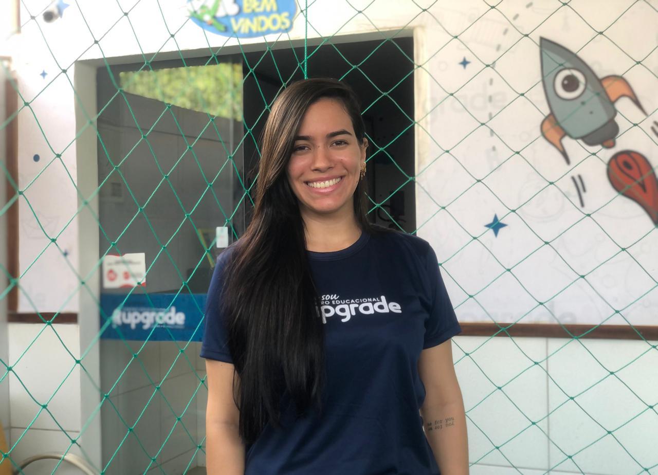 Gabriella Marinho, educadora física e diretora de centro educacional infantil