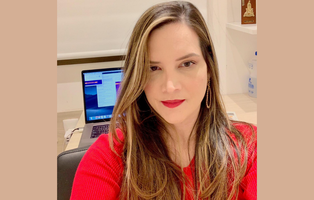 Milena Wanderley é médica otorrinolaringologista