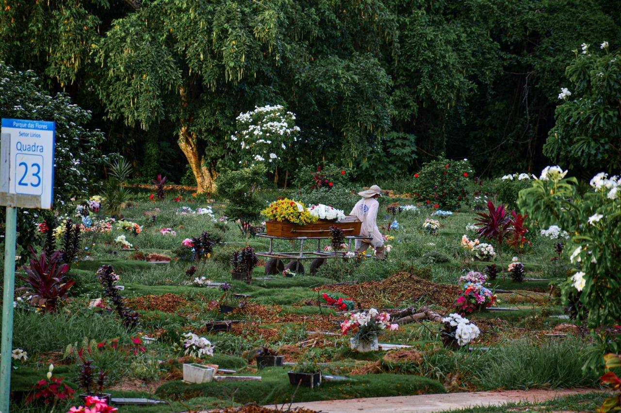 Cemitério Parque das Flores, no Recife