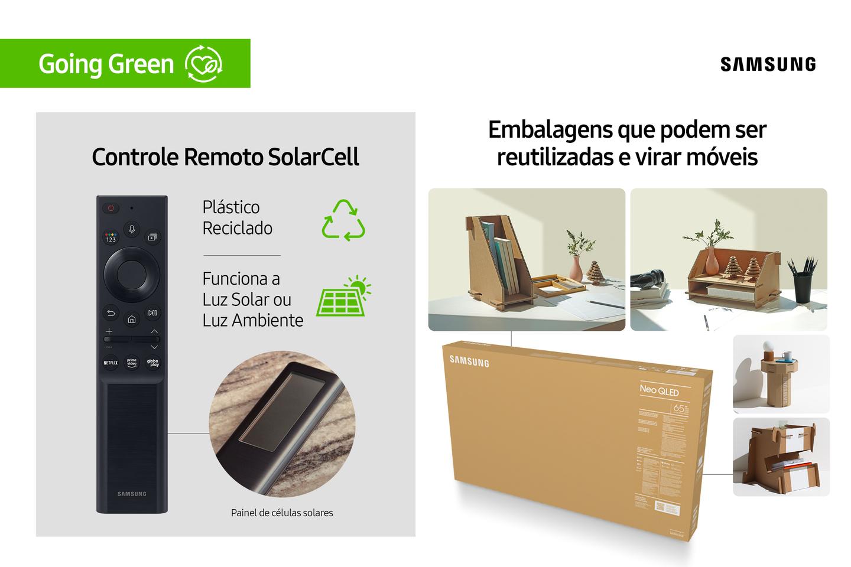 Controle remoto Samsung
